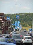 Stadtauswärts in Richtung Frankfurt
