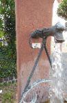 Sprudelnder Brunnen Obergasse Ecke Eselsweg